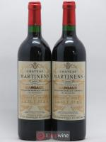 Château Martinens Cru Bourgeois 2000