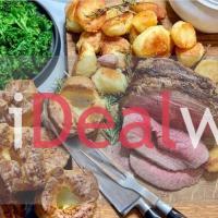 Dinner Sunday Night Roast pour 4 personnes du restaurant L'Entente Le British Brasserie à Paris