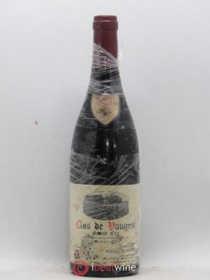 Clos de Vougeot Grand Cru Domaine Henri Rebourseau  2005 - Lot de 1 Bottle