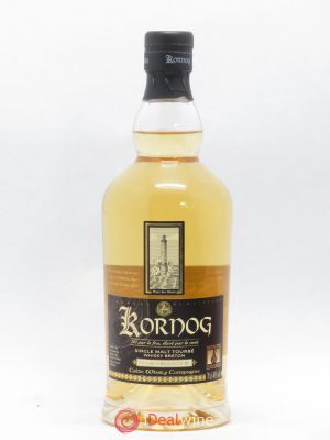 Whisky Breton Kornog Single Malt Tourbe Taouarc'h Kentan 2015 Burbon Cask 46°