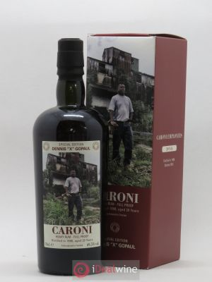 Rhum Trinidad and Tobaggo Heavy Rum Full Proof Caroni Trinidad 20 Ans bottled in 2018 Serie Caroni Employes Dennis X Gopaul  1998