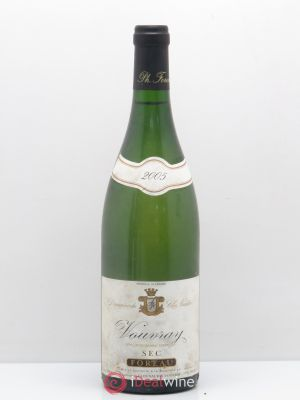 Vouvray Sec Clos Naudin - Philippe Foreau  2005