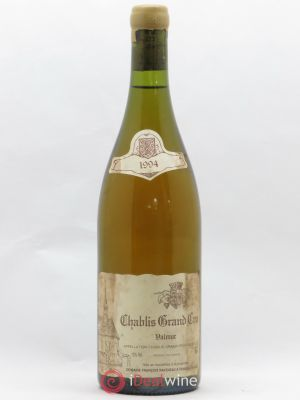 Chablis Grand Cru Valmur Raveneau (Domaine)  1994 - Lot de 1 Bottle