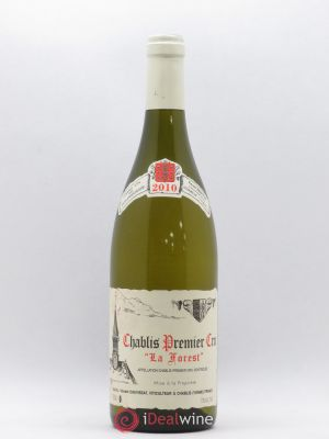 Chablis 1er Cru La Forest René et Vincent Dauvissat  2010 - Lot de 1 Bottle