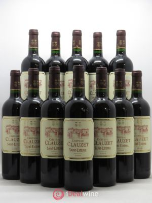 Bottle Château Clauzet Saint-Estèphe 2005