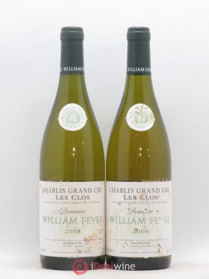 Chablis Grand Cru Les Clos William Fèvre (Domaine)  2008 - Lot de 2 Bottles