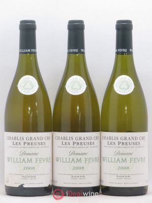 Chablis Grand Cru les Preuses William Fèvre (Domaine)  2008 - Lot de 3 Bottles