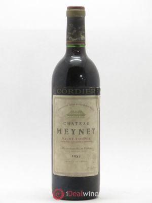 Château Meyney Cru Bourgeois  1983 - Lot de 1 Bottle