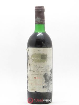 Château Patache d'Aux Cru Bourgeois  1974 - Lot de 1 Bottle