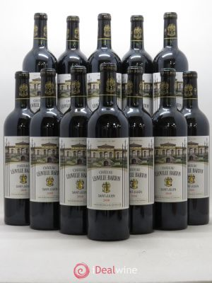 Bottle Château Léoville Barton 2ème Grand Cru Classé  2008 - Lot de 12 Bottles