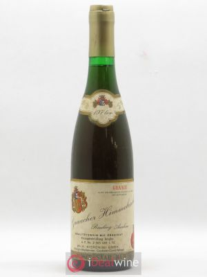 Allemagne Mosel-Saar Graacher Himmelreich Riesling Aulese Wilh. Hieronimi Gmbh 1971