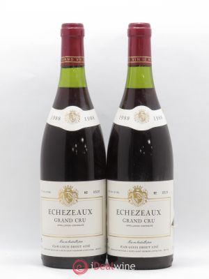 Echézeaux Grand Cru Jean Louis Drout Aîné  1988 - Lot de 2 Bottles