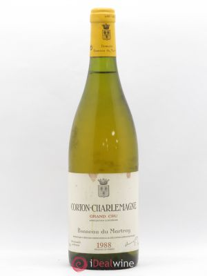 Corton-Charlemagne Grand Cru Bonneau du Martray (Domaine)  1988 - Lot de 1 Bottle