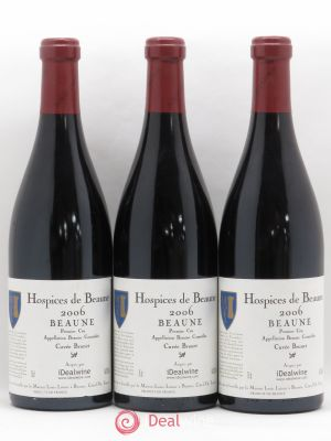 Beaune 1er Cru Cuvée Brunet Hospices de Beaune Louis Latour 2006 - Lot de 3 Bottles