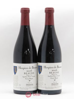 Beaune 1er Cru Cuvée Brunet Hospices de Beaune Louis Latour 2006 - Lot de 2 Bottles