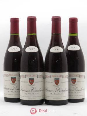 Beaune 1er Cru Coucherias Domaine Pierre Labet 1991 - Lot de 4 Bottles