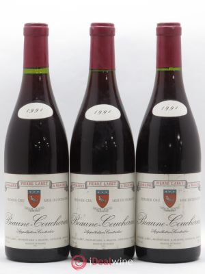 Beaune 1er Cru Coucherias Domaine Pierre Labet 1991 - Lot de 3 Bottles