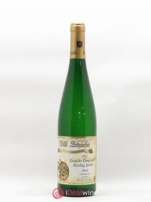 Riesling Willi Schäefer Graacher Domprobst  Spätlese 2011 - Lot de 1 Bottle