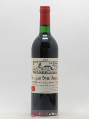 Château Pavie Decesse Grand Cru Classé  1983 - Lot de 1 Bottle