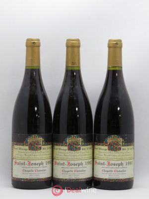 Saint-Joseph Chapelle Chevalier Lionel Dufour 1997 - Lot de 3 Bottles