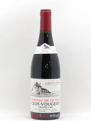 Clos de Vougeot Grand Cru Château de La Tour  2010 - Lot de 1 Bottle