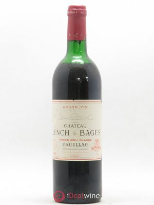 Château Lynch Bages 5ème Grand Cru Classé  1986 - Lot de 1 Bottle