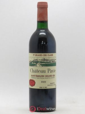 Château Pavie 1er Grand Cru Classé A  1989 - Lot de 1 Bottle