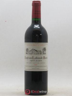Château Lalande Borie Cru Bourgeois  1996 - Lot de 1 Bottle