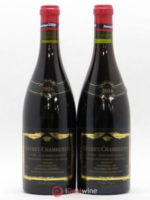 Gevrey-Chambertin 1er Cru Clos Saint Jacques Dominique Laurent  2016 - Lot de 2 Bouteilles