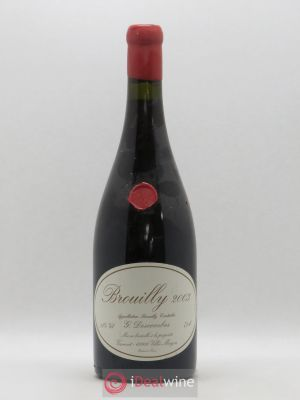 Brouilly Vieilles vignes Georges Descombes (Domaine)  2003