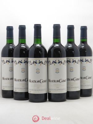 Château Mouton Cadet  1997 - Lot de 6 Bottles