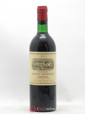 Château Saint-Bonnet Cru Bourgeois  1982 - Lot de 1 Bottle