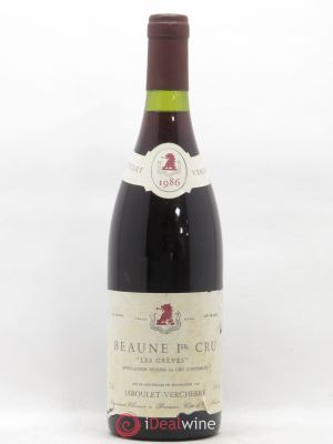 Beaune 1er Cru Grèves Jaboulet Verchere 1986 - Lot de 1 Bottle