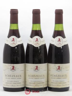 Echézeaux Grand Cru Jaboulet Verchere 1986 - Lot de 3 Bottles