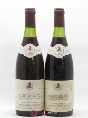 Echézeaux Grand Cru Jaboulet Verchere 1986 - Lot de 2 Bottles