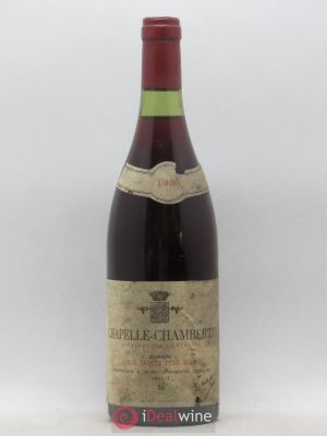 Chapelle-Chambertin Grand Cru Jean et Jean-Louis Trapet Louis Trapet 1980 - Lot de 1 Bottle