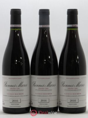 Bonnes-Mares Grand Cru Laurent Roumier  2016 - Lot de 3 Bottles