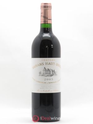 Clarence (Bahans) de Haut-Brion Second Vin  2003