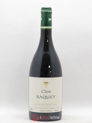 Côtes du Marmandais Clos Baquey Elian Da Ros (Domaine)  (no reserve) 2008 - Lot de 1 Bottle