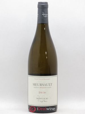 Meursault Ropiteau (no reserve) 2016 - Lot de 1 Bottle