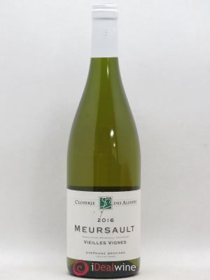 Meursault Vieilles Vignes Brocard (no reserve) 2016 - Lot de 1 Bottle