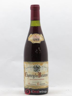 Chorey-lès-Beaune Camille Giroud (no reserve) 1988 - Lot de 1 Bottle