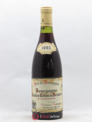 Hautes Côtes de Beaune Camille Giroud (no reserve) 1993 - Lot de 1 Bottle