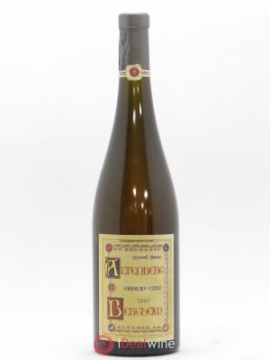 Altenberg de Bergheim Grand Cru Marcel Deiss (Domaine)  (no reserve) 2005 - Lot de 1 Bottle