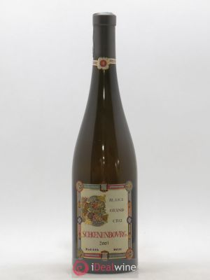 Alsace Grand Cru Schoenenbourg Marcel Deiss (Domaine)  (no reserve) 2001 - Lot de 1 Bottle
