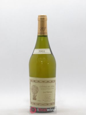 Côtes du Jura Chardonnay Les Varrons Labet (Domaine)  (no reserve) 2003 - Lot de 1 Bottle
