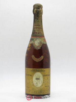 Cristal Louis Roederer  (no reserve) 1961 - Lot de 1 Bottle