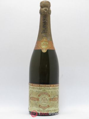 Champagne Ruinart Baron Philippe de Rothschild Reserve (no reserve) 1955 - Lot de 1 Bottle