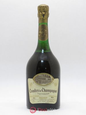 Comtes de Champagne Taittinger Blanc de Blancs (no reserve) 1961 - Lot de 1 Bottle