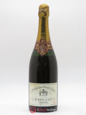 Vintage Krug Private Cuvée Extra sec (no reserve) 1953 - Lot de 1 Bottle
